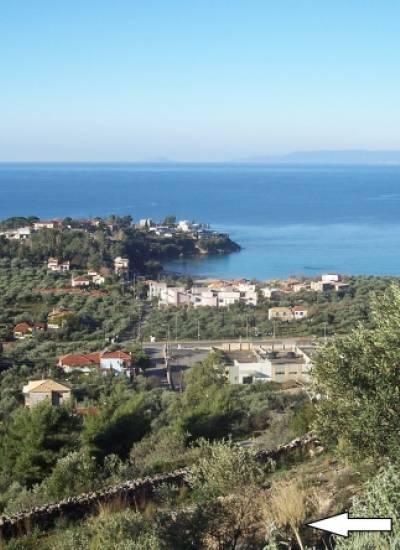 Plot of land above stoupa - €100.000